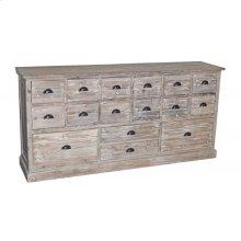 16-Drawer Reclaimed Pine Dresser