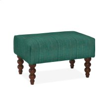 Rockport Small Ottoman, LUCT-TEAL