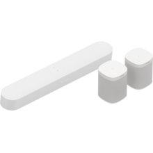 White- 5.0 Surround Set