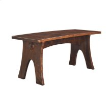 Curved Dining Bench