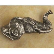 Elephant Head Knob Facing Right