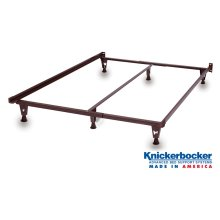 Heavy Duty Full Bed Frame on Glides
