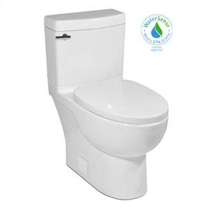 Balsa MALIBU II Two-Piece Toilet, 10-in Rough-in 1.28gpf, Compact Elongated