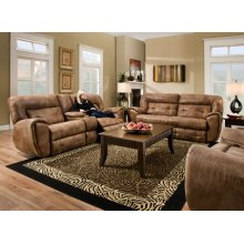 Right Arm Facing Loveseat, Single Recliner
