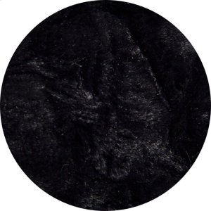 Full Cover - Faux Fur - Black Product Image