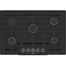 800 Series Gas Cooktop 30'' Black