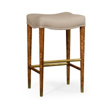 Cosmo Bar Stool, Upholstered in MAZO