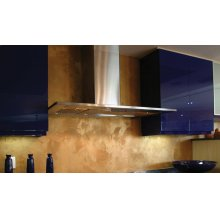"36"" Diamante - Wall Hood w/600 cfm Blower"