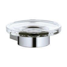Soap holder - chrome-plated
