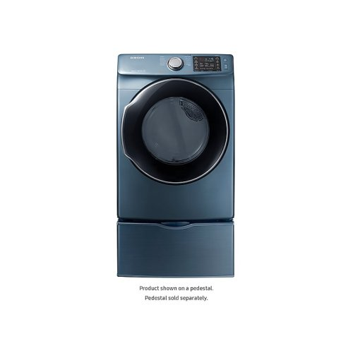 7.4 cu. ft. Gas Dryer in Azure Blue
