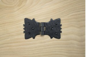 "Black 4"" Furniture Hinge 498015 Product Image"