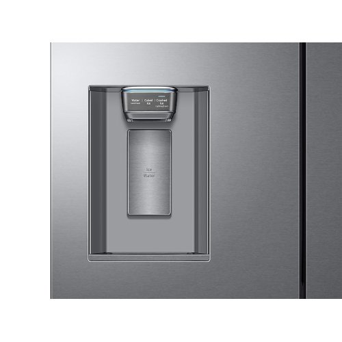 23 cu. ft. Counter Depth 4-Door French Door Refrigerator in Stainless Steel