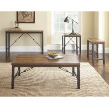 "Ashford End Table 23"" x 23"" x 24 """
