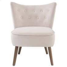 Elle Accent Chair in Blush