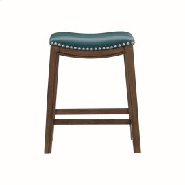 24 Counter Height Stool, Green