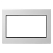 "30"" Microwave Trim Kit, White"