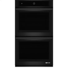 """30"""" Double Wall Oven with MultiMode® Convection System, Black Floating Glass w/Handle"""