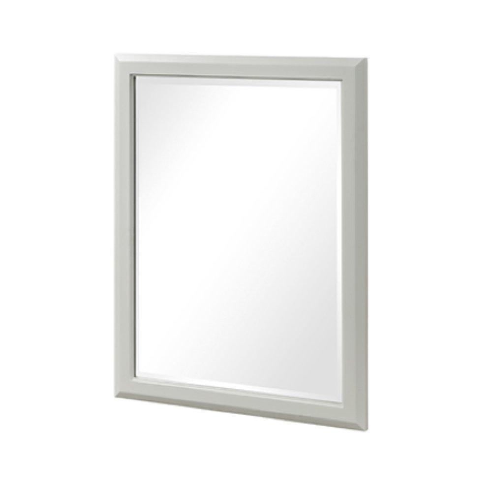 "Charlottesville 28"" Mirror - Polar White"