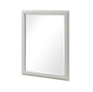 "Charlottesville 28"" Mirror - Polar White Product Image"