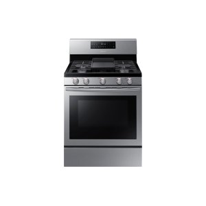5.8 cu. ft. Freestanding Gas Range with Convection in Stainless Steel Product Image