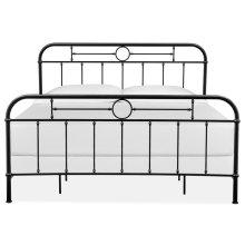 Complete King Metal Bed - Black