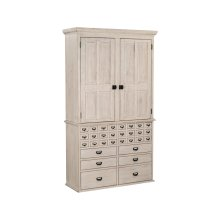 Feather Card Catalog Armoire