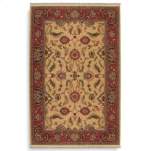 Agra Ivory Rectangle 4ft 3in X 6ft