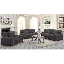 Big Chill Charcoal Sofa, Love, 1.5 Chair, U2249