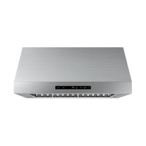 """30"""" Wall Hood, Silver Stainless Steel Product Image"""