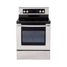 Extra-large Capacity Freestanding Electric Range with PreciseTemp™ baking system.
