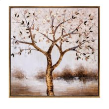 Bronze Tranquility Framed Oil Painting