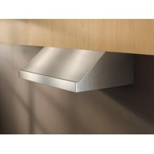 """30"""" Stainless Steel Range Hood with External Blower Options"""