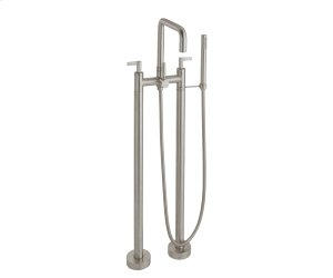 Contemporary Floor Mount Tub Filler Product Image