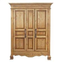 2 Door Reg Wax Armoire