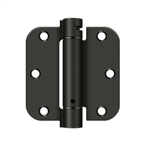 "3 1/2""x 3 1/2""x 5/8"" Spring Hinge - Oil-rubbed Bronze Product Image"