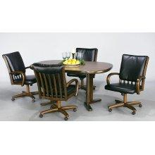 Table Base: Twin Legs (wood)