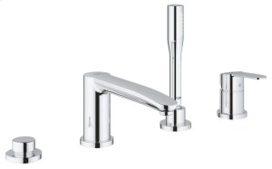 Eurostyle Cosmopolitan Four-Hole Bathtub Faucet with Handshower Product Image