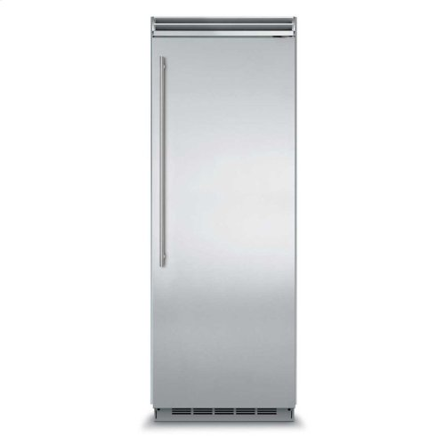 "Marvel Professional Built-In 30"" All Refrigerator - Solid Stainless Steel Door - Right Hinge, Slim Designer Handle"