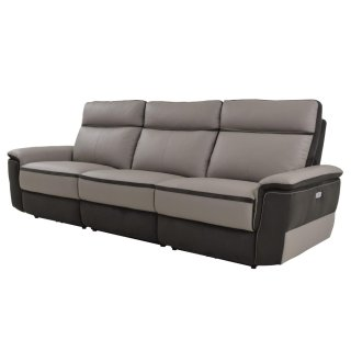 Laertes Leather Power Reclining Sofa