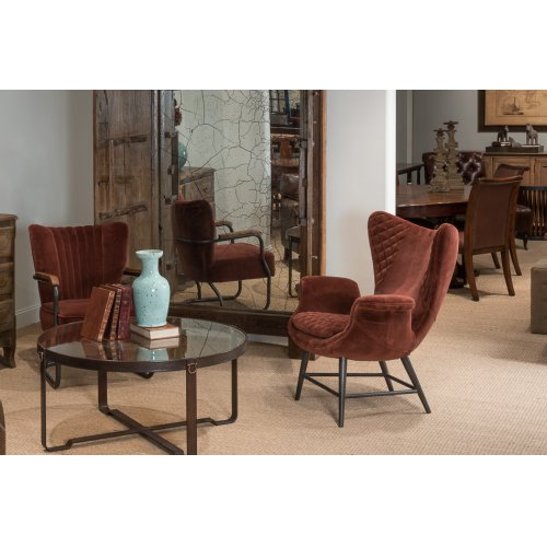 Wings Chair, Brown