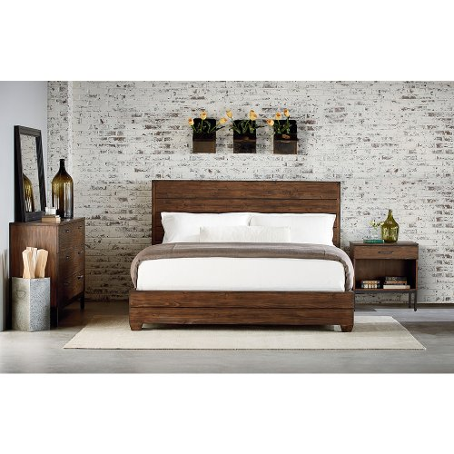 Milk Crate Framework Queen Bed