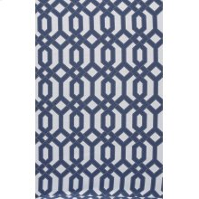 Blue Cable Stitched Slip Cover