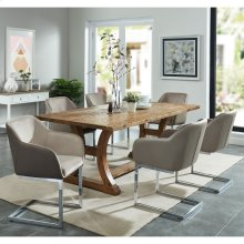Aspen/Modena 7pc Dining Set. Taupe