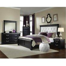 Standard Furniture 69250 Venetian Black Panel Bedroom set Houston Texas USA Aztec Furniture