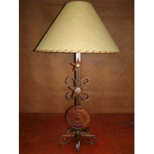 Texas Seal Metal Lamp