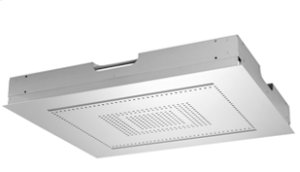 RAIN SKY M Rain panel for flush ceiling installation, manual control - polished stainless steel Product Image