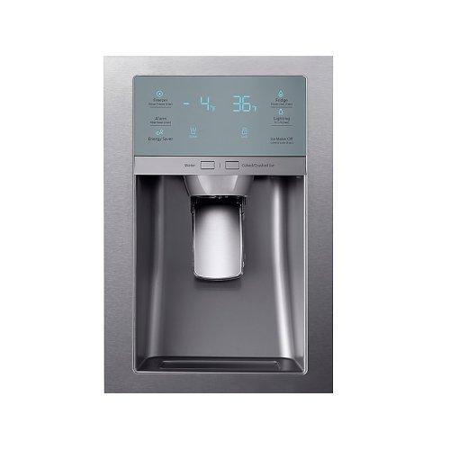 22 cu. ft. Food Showcase Counter Depth 4-Door French Door Refrigerator in Stainless Steel