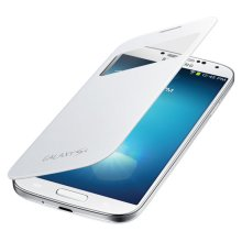 Galaxy S 4 S-View Flip Cover, White