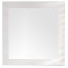 "Weston 40"" Rectangular Mirror, Bright White"