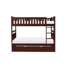 Twin/Twin Bunk Bed with Twin Trundle